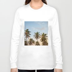 Chilling Palm Trees Long Sleeve T-shirt