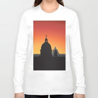 italy Long Sleeve T-shirts featuring Italy by Nove Studio