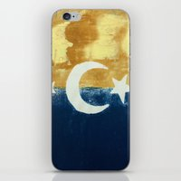 moonrise iPhone & iPod Skins featuring Moonrise by Abby Snyder