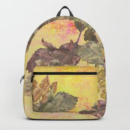 ...among the leaves,  the dew  of old devotions. ' Backpack