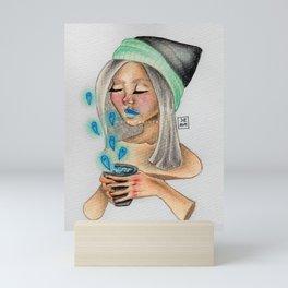 Tea time Mini Art Print