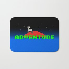 8-Bit Adventure On Mars Bath Mat