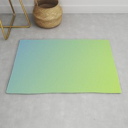 Pastel Colorful Gradient Rug