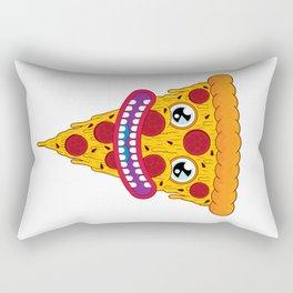 Pizza Face Rectangular Pillow