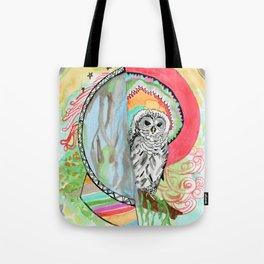 Owl Dreamcatcher Dream Tote Bag