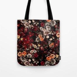 Night Garden Lava Tote Bag