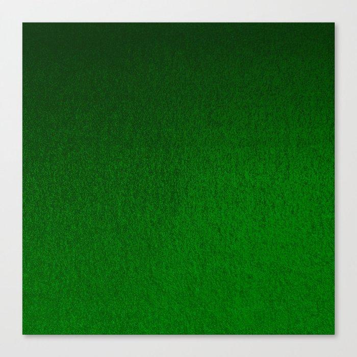Emerald Green Ombre Design Leinwanddruck