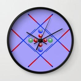 Pool Game Design v3 Wall Clock