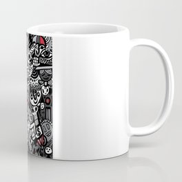 Doodled To Death Coffee Mug