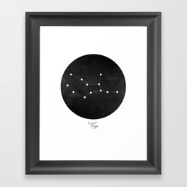 Virgo Constellation Art Print  Framed Art Print