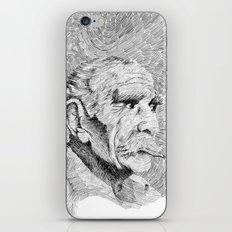Hombre - black ink iPhone & iPod Skin