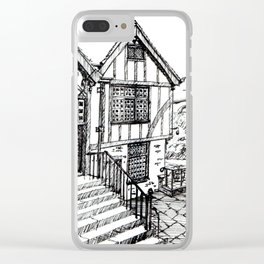 Traditional House in York, England Clear iPhone Case