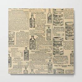 Vintage Catalogue Metal Print