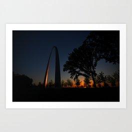 St. Louis Gateway Arch Art Print