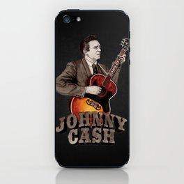 Johnny Cash iPhone Skin