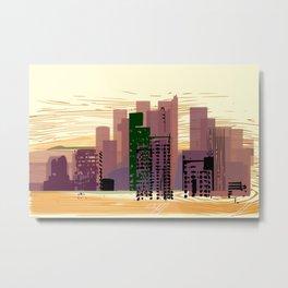 City Center Metal Print