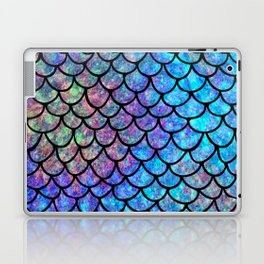 Colorful Mermaid Scales Laptop & iPad Skin