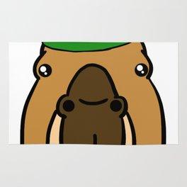 Leprechaun Capybara - St. Patricks Day Rug
