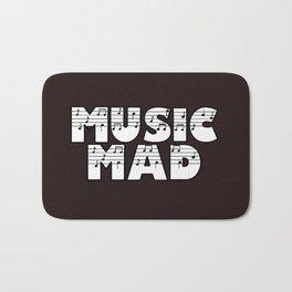MUSIC MAD Bath Mat