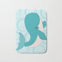 Shock Cousteau Whale Bath Mat