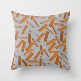 3D Pattern  X 0.4 Throw Pillow