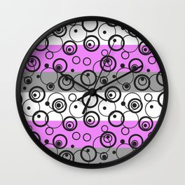Abstract pattern 22 Wall Clock