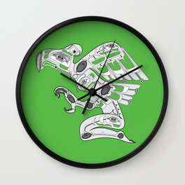 Cyber Punk American Wall Clock