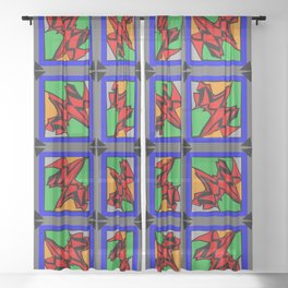 Abstract Arthur Sheer Curtain