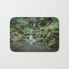 Portland Japanese Garden Waterfall Bath Mat