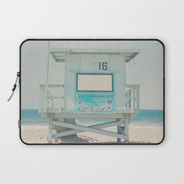 Lifeguard Tower #16 Laptop Sleeve