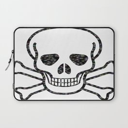 Bubble Skull Laptop Sleeve