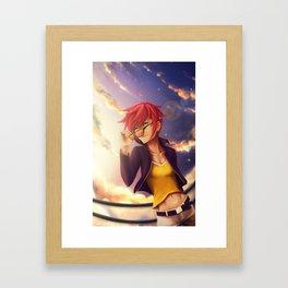 Setting Sun Framed Art Print
