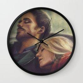 The Sleeping Spell Wall Clock