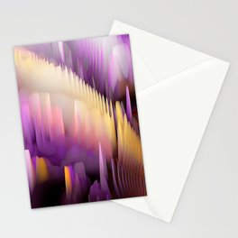 Purple Cave Stationery Cards