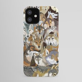 Wolves o´clock ( Time to Wolf ) iPhone Case