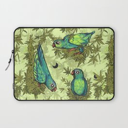 Parrots & Weeds Laptop Sleeve