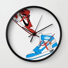 Off White Air x Jordan 1 Poster Wall Clock