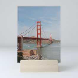 Golden (red) Gate Bridge Mini Art Print