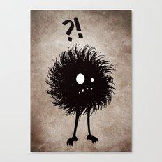 Evil Bug Wondering Canvas Print