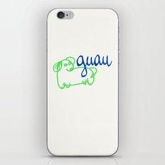 Guau - a dog iPhone & iPod Skin