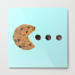 PACKMAN COOKIE Metal Print
