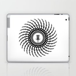 Disc Golf Basket Chains Laptop & iPad Skin