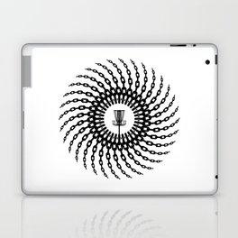 Disc Golf Basket Chains Laptop & iPad Skin