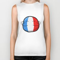 france Biker Tanks featuring France by Thomas Official
