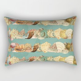 Sea shells pattern 3 Rectangular Pillow