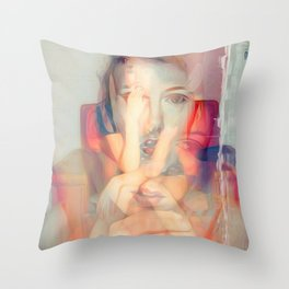 Series 1 - Sitting Room 1 Throw Pillow