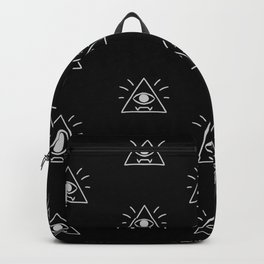 Eye of Providence Pattern Backpack