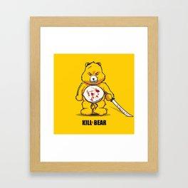 Killer Bear Framed Art Print