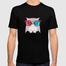 Owl - Owl Black MEDIUM Mens Fitted Tee