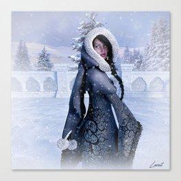 Winter wonder Canvas Print
